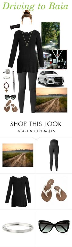 """Driving to Baia"" by a-hanks ❤ liked on Polyvore featuring GAS Jeans, Noppies, Volcom, Tom Ford, Eugenia Kim, bathroom and country"