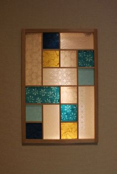 Stained Glass Door, Japanese Artwork, Modern Outdoor Furniture, Glass Design, Restaurant Design, Jewellery Display, Windows And Doors, Diy And Crafts, Home And Garden