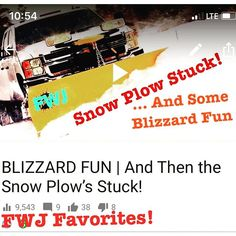 Check out one of oldies but a goodie!  BLIZZARD FUN | And Then the Snow Plows Stuck! https://youtu.be/Cgts1skhi1A  And dont forget to subscribe to our channel at: http://www.youtube.com/c/fascinatedwithjesus and get our mobile app at: http://bit.ly/2ye46tM