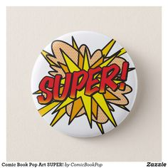 Comic Book Pop Art SUPER!