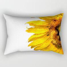 Simply a #sunflower Rectangular #Pillow https://society6.com/product/simply-a-sunflower_rectangular-pillow?curator=originalaufnahme