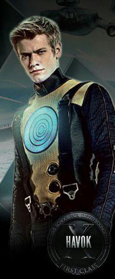 """Alex Summers aka """"Havok""""  (X-Men: First Class)"""