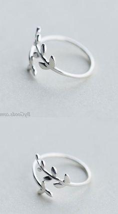 Cute Rings, Diy Rings, Pretty Rings, Unique Rings, Simple Rings, Sweet Ring, Music Rings, Handmade Rings, Feather Ring