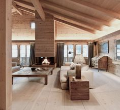 World's Most Beautiful Wood: The Dinesen Story Dinesen Holzboden, Chalet Gstaad. Chalet Design, House Design, Bar Design, Chalet Style, Chalet Interior, Home Interior Design, Interior Architecture, Beautiful Architecture, Residential Architecture