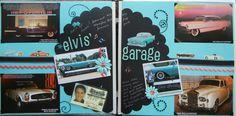 Elvis' Garage - Scrapbook.com