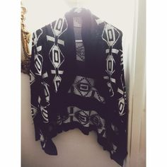 Tribal sweater cardigan Never worn. New Forever 21 Sweaters