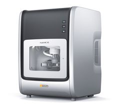 The inLab MC X5 milling and grinding unit is used in dental laboratories to produce aesthetically sophisticated restorations. The five-axis machine offers high flexibility, because it can quickly switch between different materials such as zirconium oxide, polymers and ceramics. Moreover, an automatic change from dry to wet processing is possible while working on a single workpiece. The high-quality design of the chamber ensures easy access for maintenance and is therefore easy to clean.