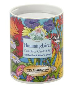 Take a look at this Hummingbird Garden Kit by Gifts That Bloom on #zulily today!