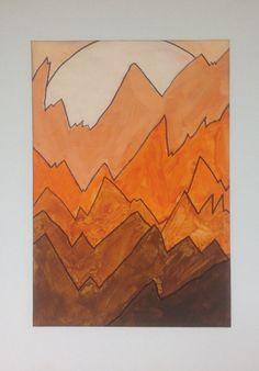 Monochromatic Landscape Color Value Tints Shades