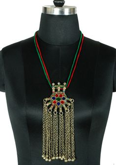 Antique Afghan Necklace design 9 – Desically Ethnic