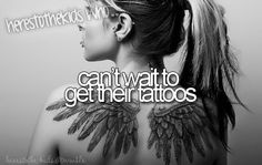 here's to the kids who can't wait to get their tattoos.