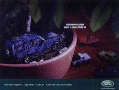 Land Rover Discovery Ad