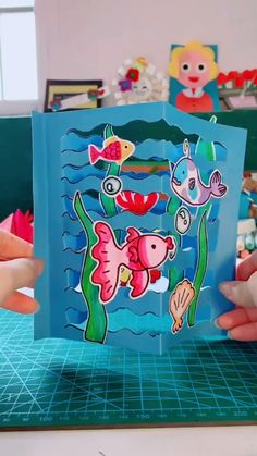 Animal Crafts For Kids, Paper Crafts For Kids, Craft Activities For Kids, Preschool Crafts, Diy For Kids, Cards For Kids, Diy Crafts Hacks, Easy Diy Crafts, Fun Crafts