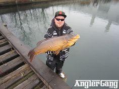 Giant Carp Fishing In Toronto visit http://AnglerGang.com for full story.