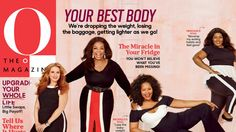 For the first time ever, Oprah shares the cover with O readers.