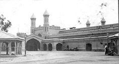 Pakistan, Lahore Railway Station 1908 (British India ) NWR.