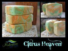 Citrus scented soap