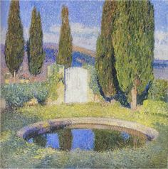 ~ Henri Jean Guillaume Martin ~ French painter, 1860-1943