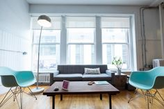 Check out our Office Tour featuring lots of pictures from MOO's offices in Boston, Massachusetts.  It's no surprise the design of the office has lots of class and style.