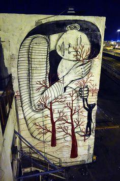 "by Klone Yourself - ""Sleeping Beauty"" - Haifa, Israel (downtown, near port) - September, 2014 (LP)"