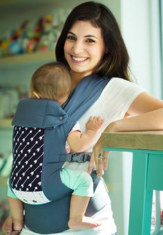 This 4-in-1 Beco Gemini Baby Carrier is the ultimate parental essential for carrying your baby everywhere you go. This carrier allows front, hip, or back carrying action and includes safety buckles and a wide seat for knee-to-knee support for your baby. Breastfeeding is also made easy with adjustable straps perfect for nursing mothers.