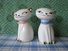 Vintage Holt Howard Cozy Kitten Salt & Pepper by LucyBettyNJune, $30.00