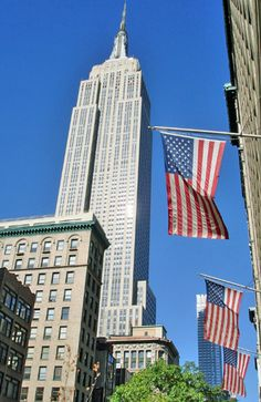 New York City Empire State Building (New York) - famous buildings ...