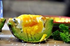 Baked Egg and Avocado #healthy