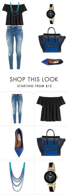 """""""Untitled #4"""" by bhagyashri-mayee-sawant on Polyvore featuring Ted Baker, Steve Madden and Anne Klein"""