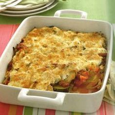 Mexican Style Baked Fennel and Zucchini