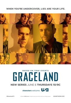 Graceland - waiting to see how this show flows... not too sure about it yet.