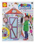 ALEX Toys – Craft, Color a Rocket Children's Kit with (6) Washable Markers and Cardboard Rocket, 198R
