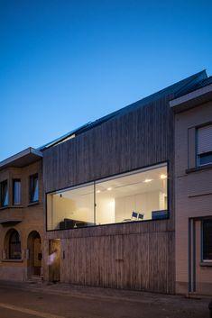 Gallery - Wooden House CM / Bruno Vanbesien + Christophe Meersman - 11