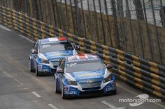 The WTCC Version of the Chevy Cruze. My real car :)