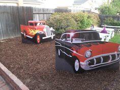 50's cardboard cars