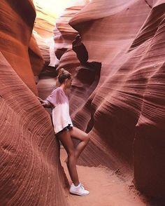 summer desert hike