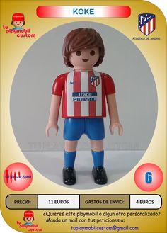 oferta venta al por mayor oficial mejor calificado Las 19 mejores imágenes de PLAYMOBIL ATLETICO MADRID | Futbol ...