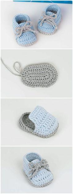 Crochet Baby Booties Crochet PCrochet Cute And Easy Baby Booties – Crochet IdeasCrochet Baby Sneakers Free Pattern