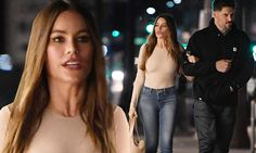 Sofia Vergara and Joe Manganiello take late night stroll