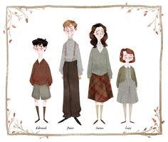 """""""MY CHILDREN! <3 The colder weather has got me feeling the Narnia nostalgia. """" by Taryndraws"""