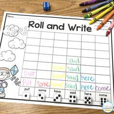 March Editable Sight Word Centers - Natalie Lynn Kindergarten