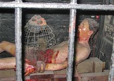When rat torture was used, the hands and feet are tied down, and the stomach is covered with a metal container with a rat inside. The container is slowly heated, and the rat rips through your digestive tract to escape. Creepy, Scary, Maleficarum, Instruments, Early Middle Ages, After Life, Interesting History, Interesting Stuff, World History