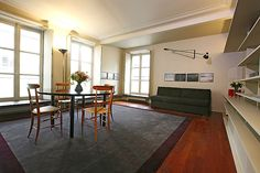Haven in Paris : Luxury Vacation Apartment Rental: Picasso Garden, Marais Apartment Rental