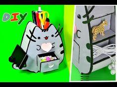 (31) DIY.Организация рабочего стола.Декор стола в кавайном стиле. Органайзер своими руками/Hand made. - YouTube