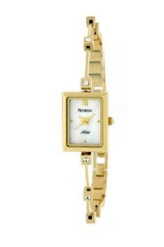 Armitron Women's 753944MPGP Swarovski Crystal Gold-Tone Rectangular Illusion Bangle Watch Armitron, http://www.amazon.com/dp/B004J3A8NS/ref=cm_sw_r_pi_dp_8IIcrb00RPKVN