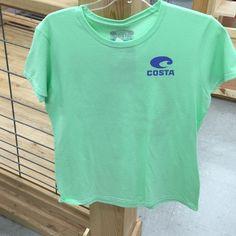 841f45f40d66f Costa Del Mar Amellias TShirt Mint Green female cut tshirt Costa Del Mar  Tops Tees -