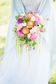 Dreamy Pastel Spring Bridal Shoot