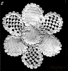 Gallery.ru / Foto # 5 - Fiori con petali di maglia - Alleta