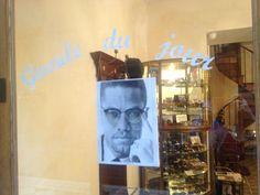 Gueule du jour : Malcolm X   Lunettes : Combinées
