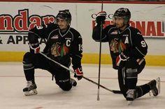 Nic Petan & Chase De Leo Hockey, Leo, Baseball Cards, Sports, Hs Sports, Sport, Lion, Field Hockey, Ice Hockey